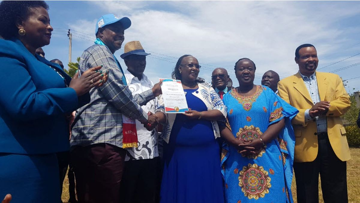 Kalonzo does the unthinkable in the Embakasi South by-elections