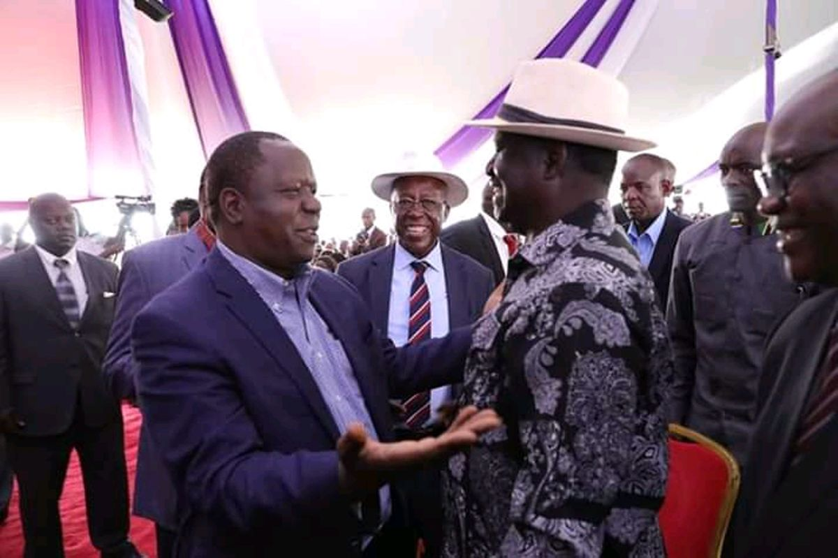 Image result for matiang'i and Raila