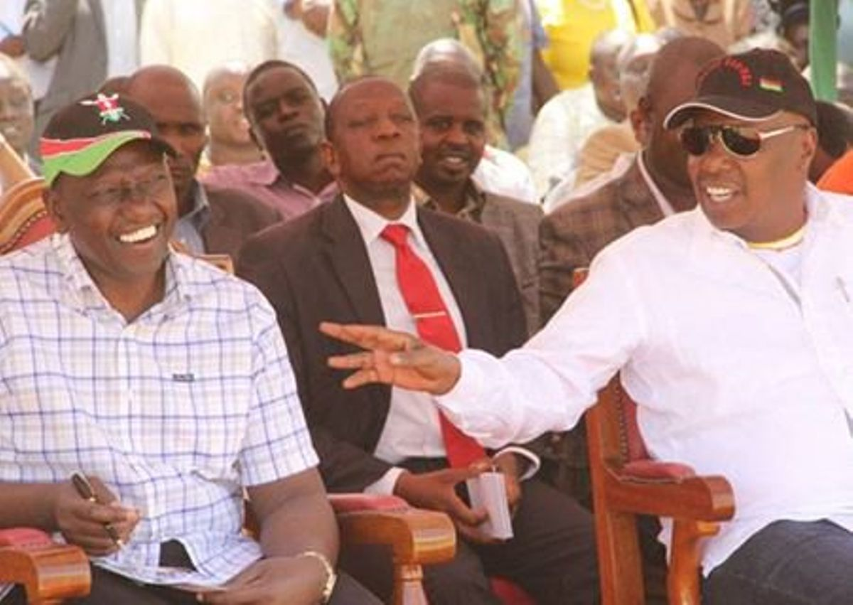 Image result for Gideon Moi with Deputy President william Ruto