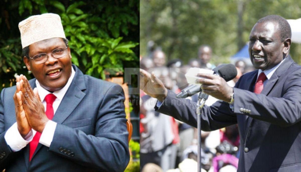 Image result for Miguna defends william Ruto