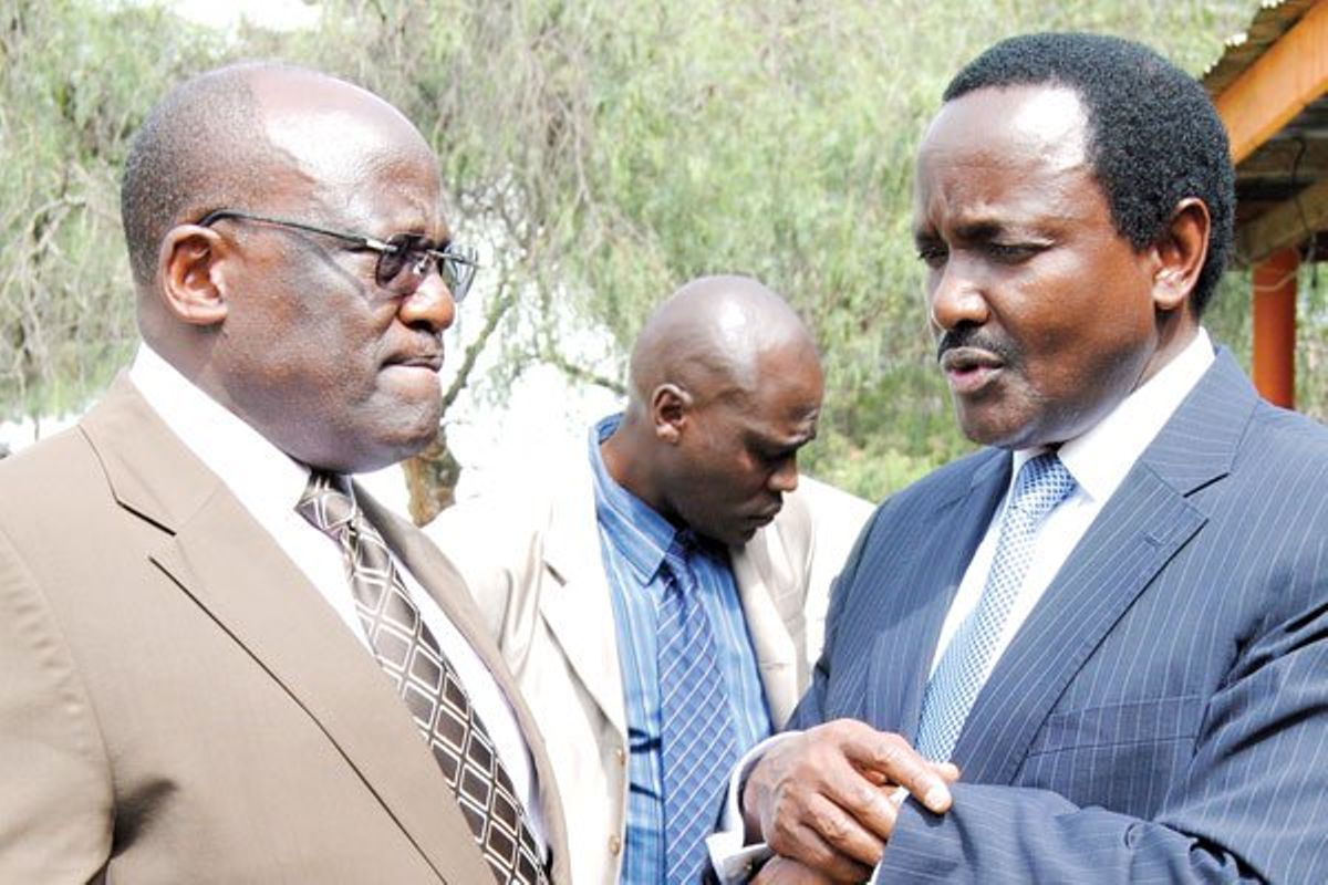 Image result for muthama with kalonzo and Raila