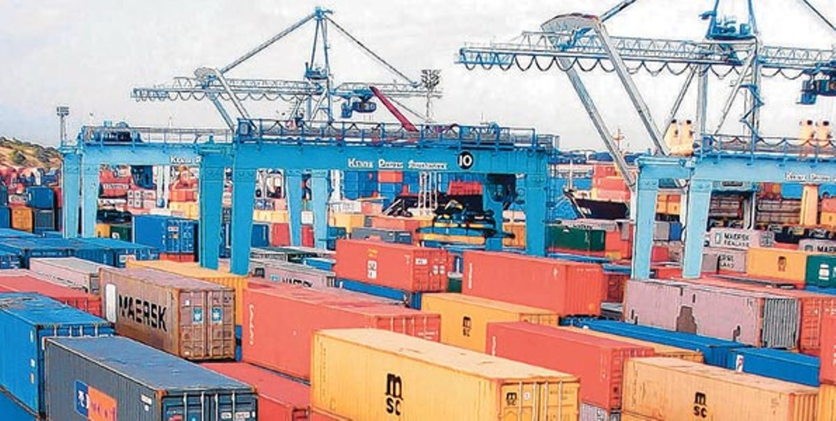 Image result for Port containers in Mombasa