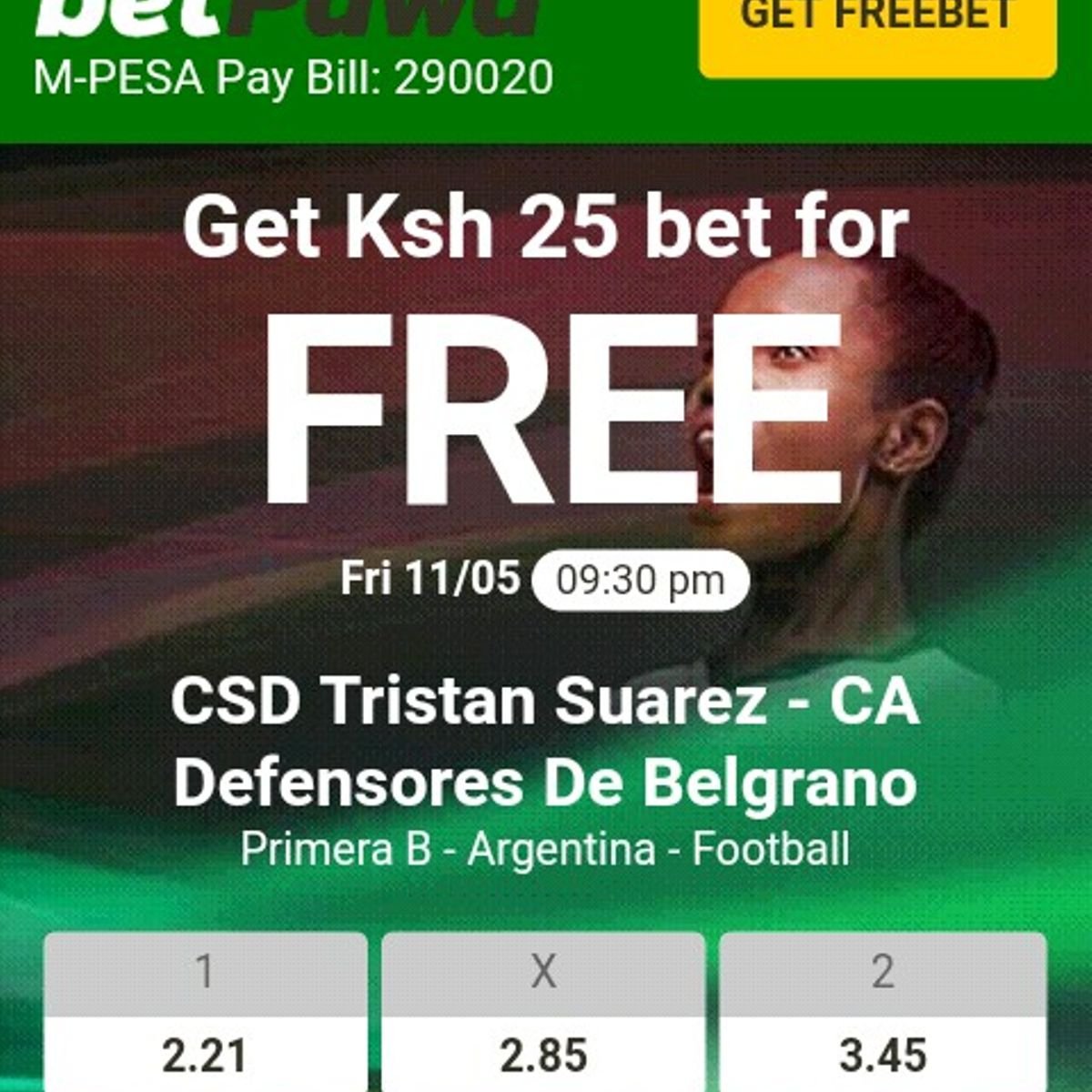 Betting sites in kenya with free bets cardiff vs nottingham bettingexpert football