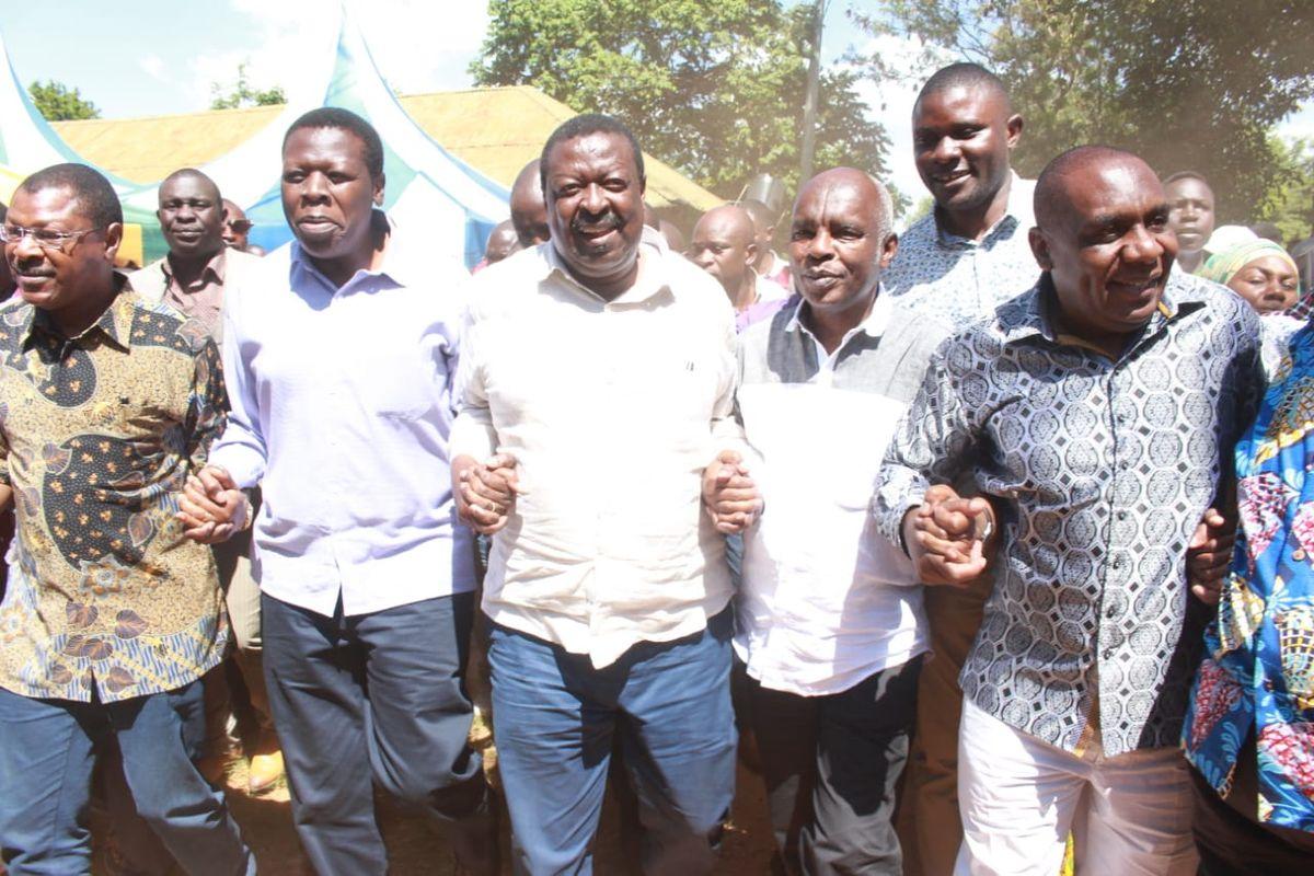 Image result for Mudavadi being Uhuru's running mate