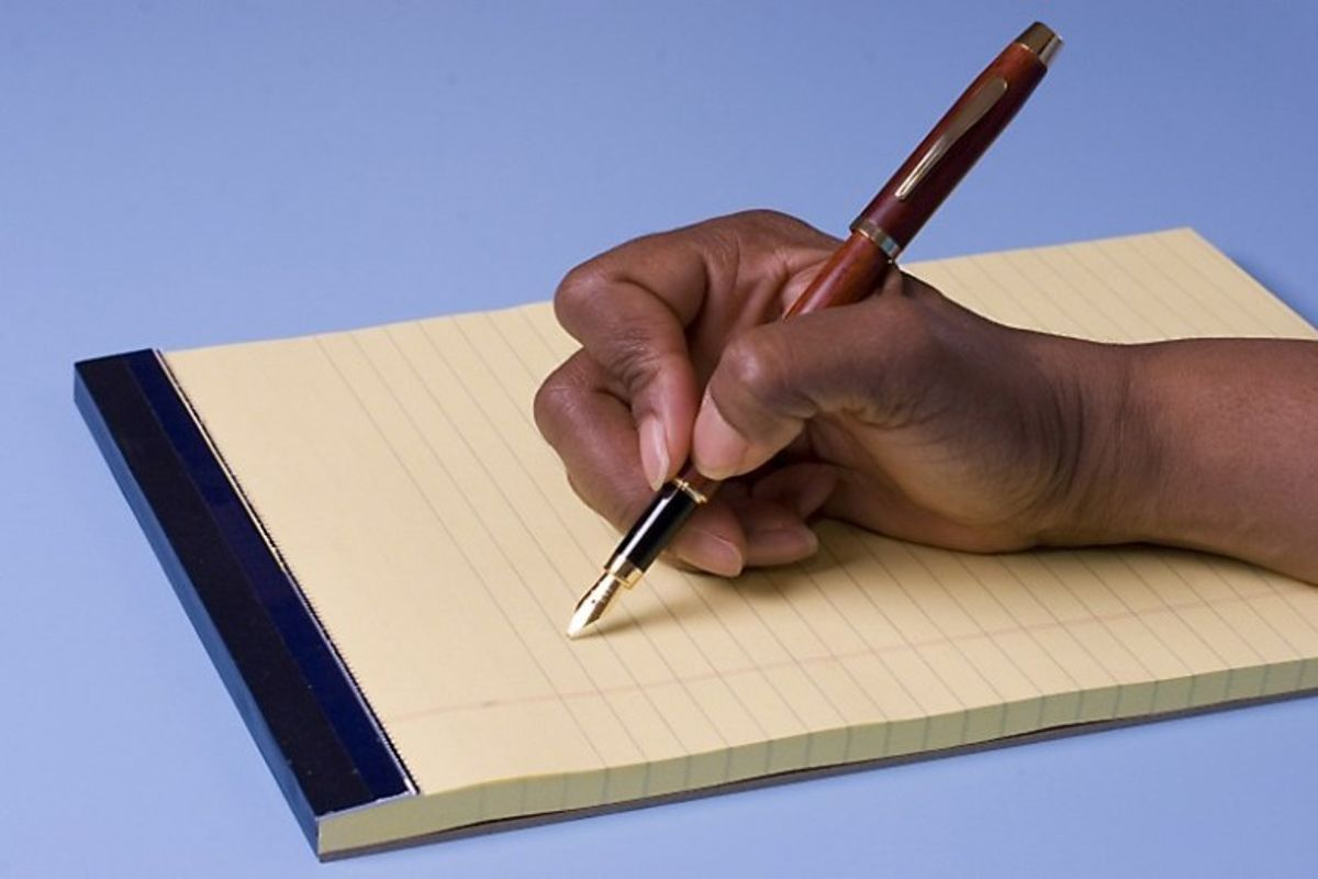 Person Writing A Letter from images.hivisasa.com