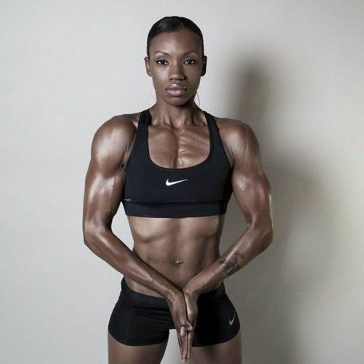 Black she muscle black sex