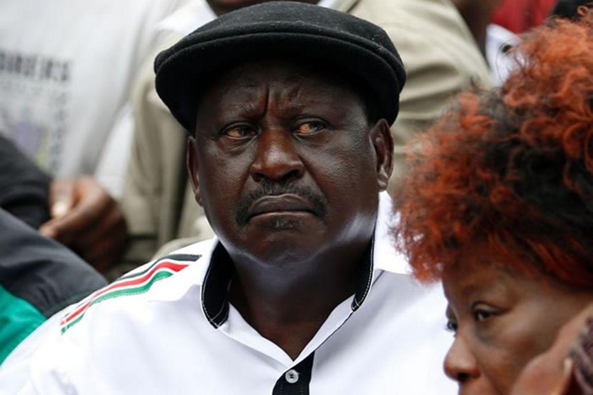 Image result for sad Raila Odinga