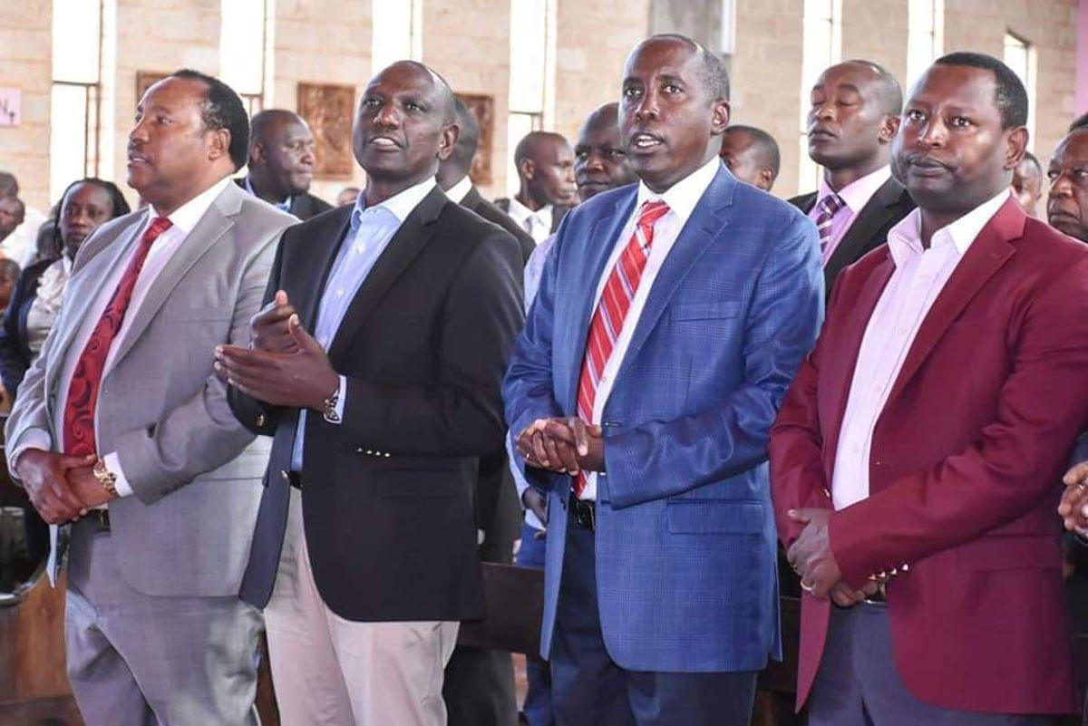 Image result for images of  Ruto and Samburu Governor