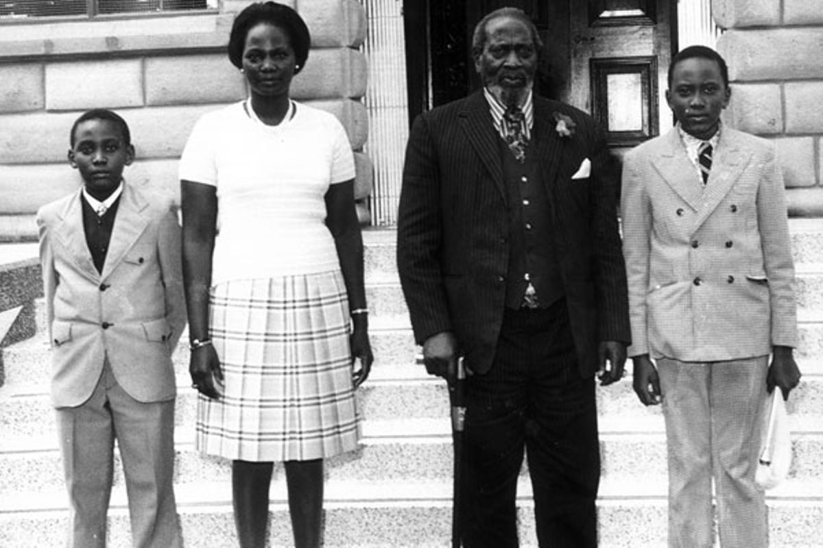 Image result for jomo kenyatta and wife