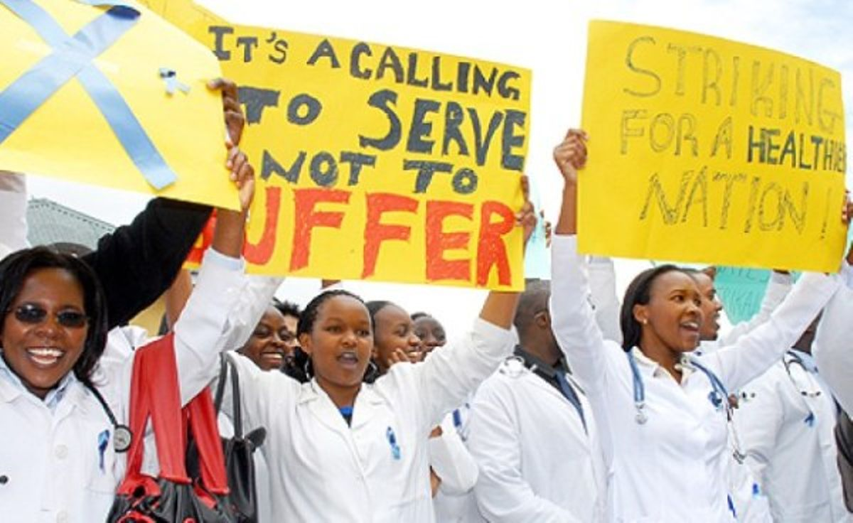 Image result for nurses strike kirinyaga