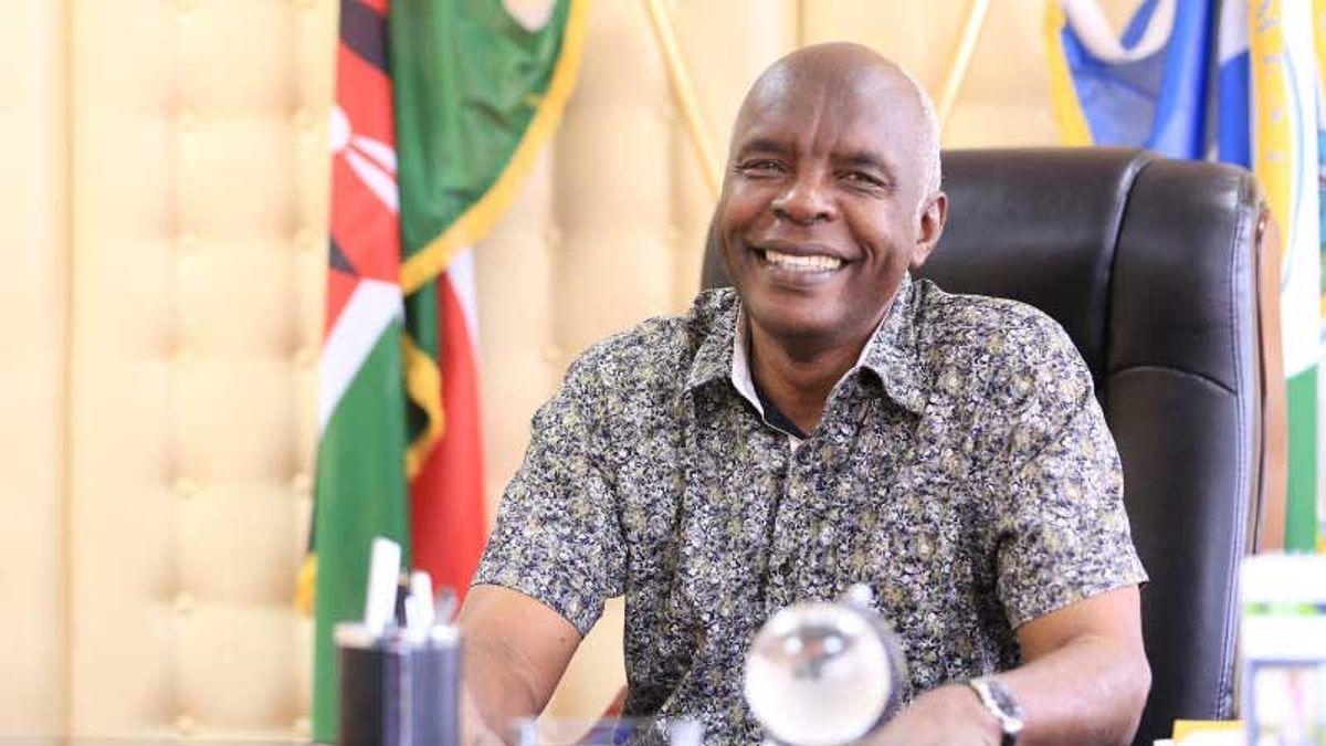 Governor Kivuthi Kibwana