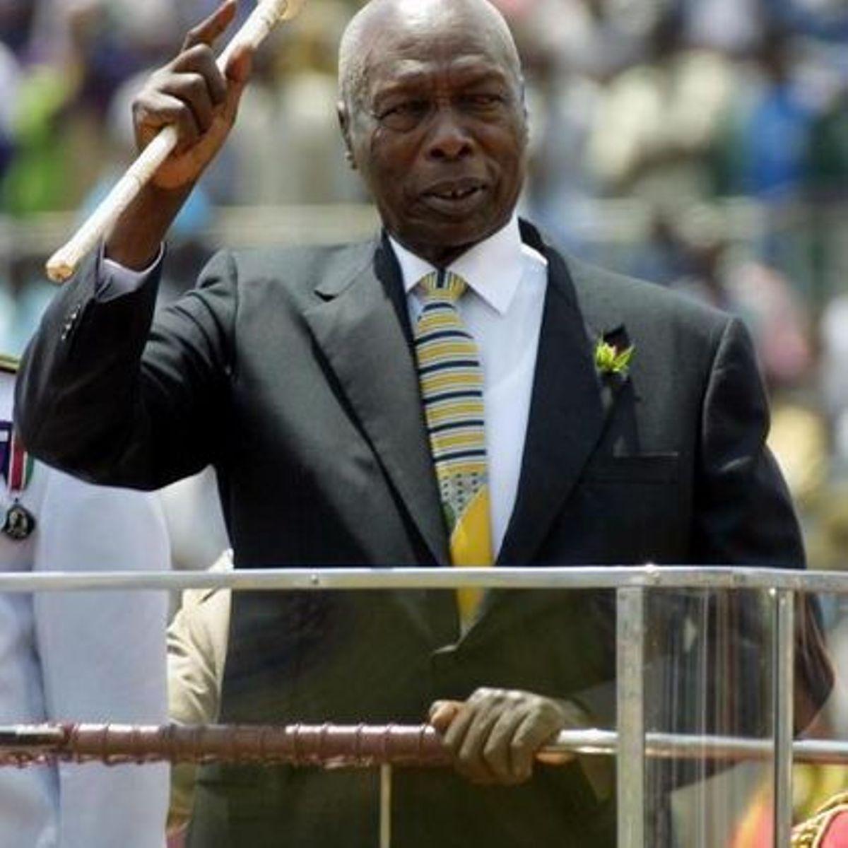Image result for president moi