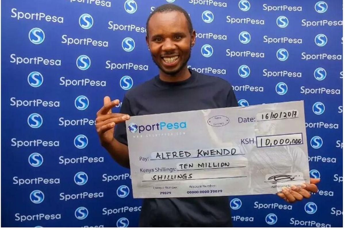 Man Who Won Sportpesa Jackpot Now Wins Betika Jackpot