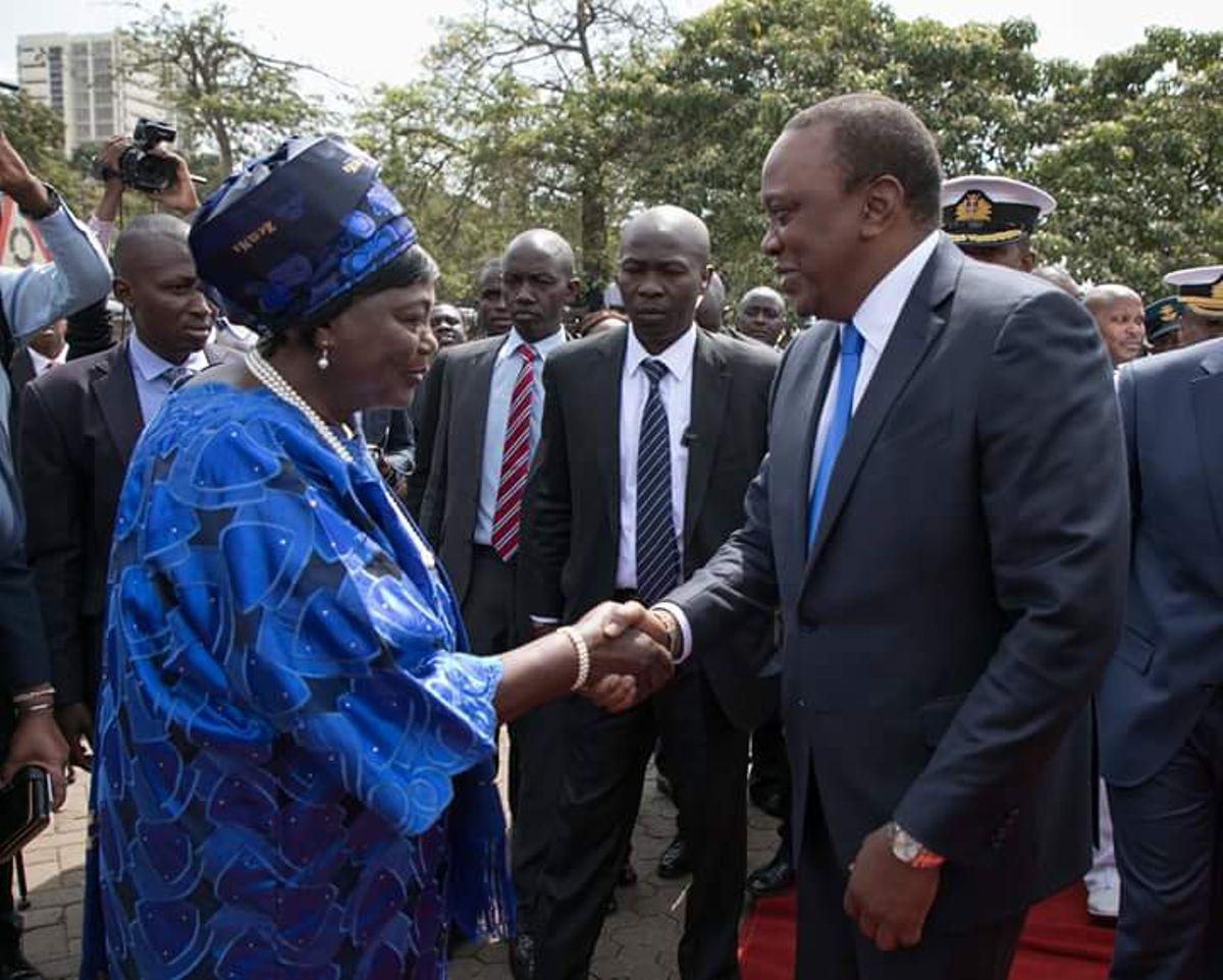 Uhuru's fresh demand to Sonko over Mama Ngina that left people in stitches