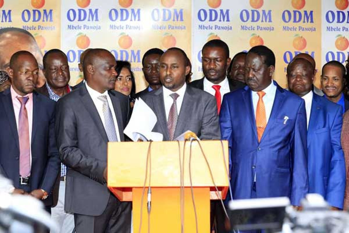 Confusion in ODM ahead of crucial meeting