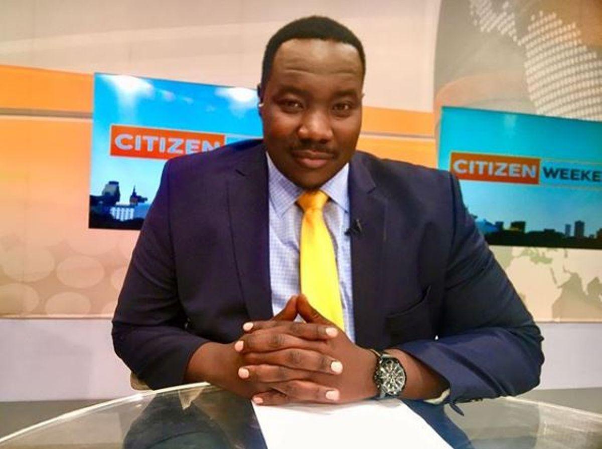 Willis Raburu takes a break from Citizen TV, asks for prayers
