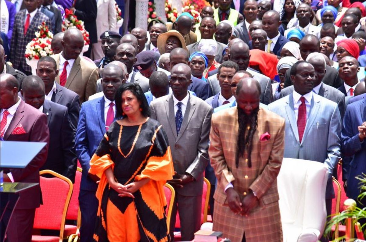 Esther Passaris obeys Prophet Owuor, preaches repentance message
