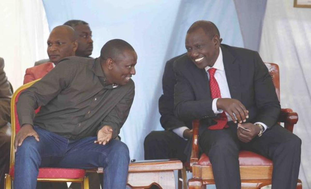 Image result for ICHUNGWA AND Ruto