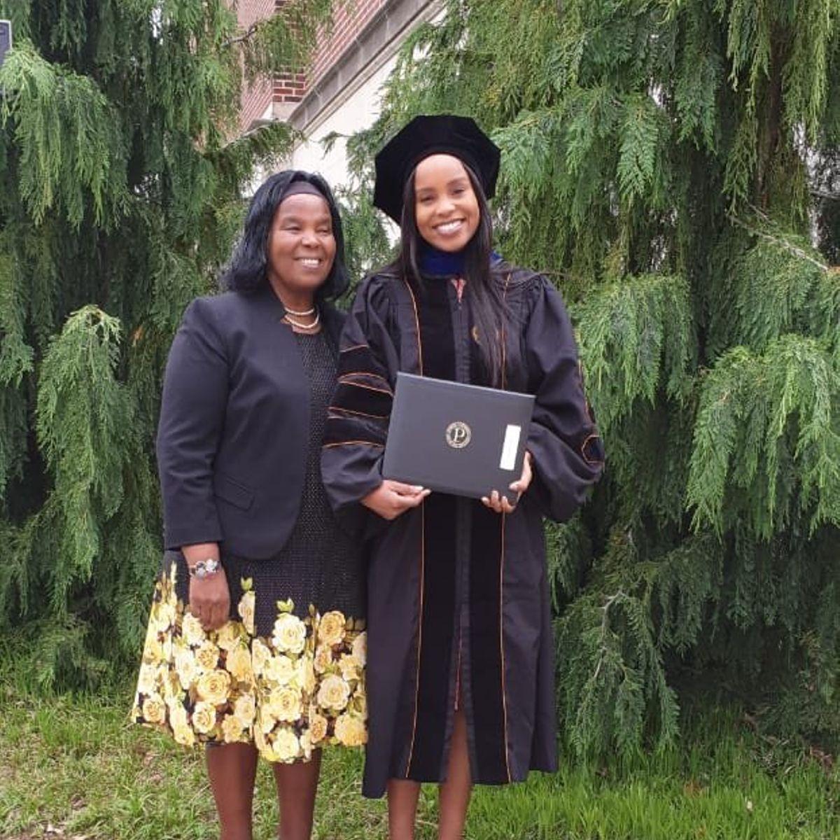 Prof Olive Mugenda's daughter awarded PhD in engineering