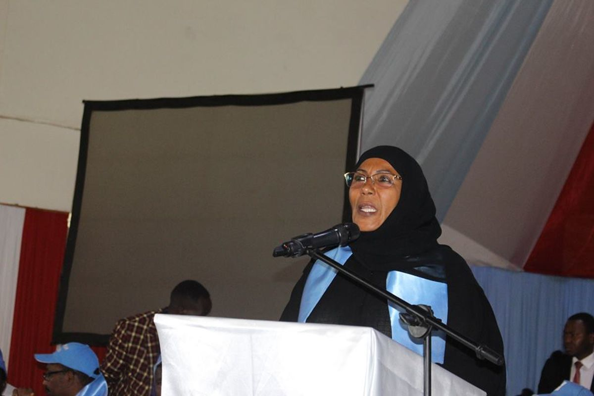 Image result for Images of Shakila Abdala (former Lamu Woman Rep)