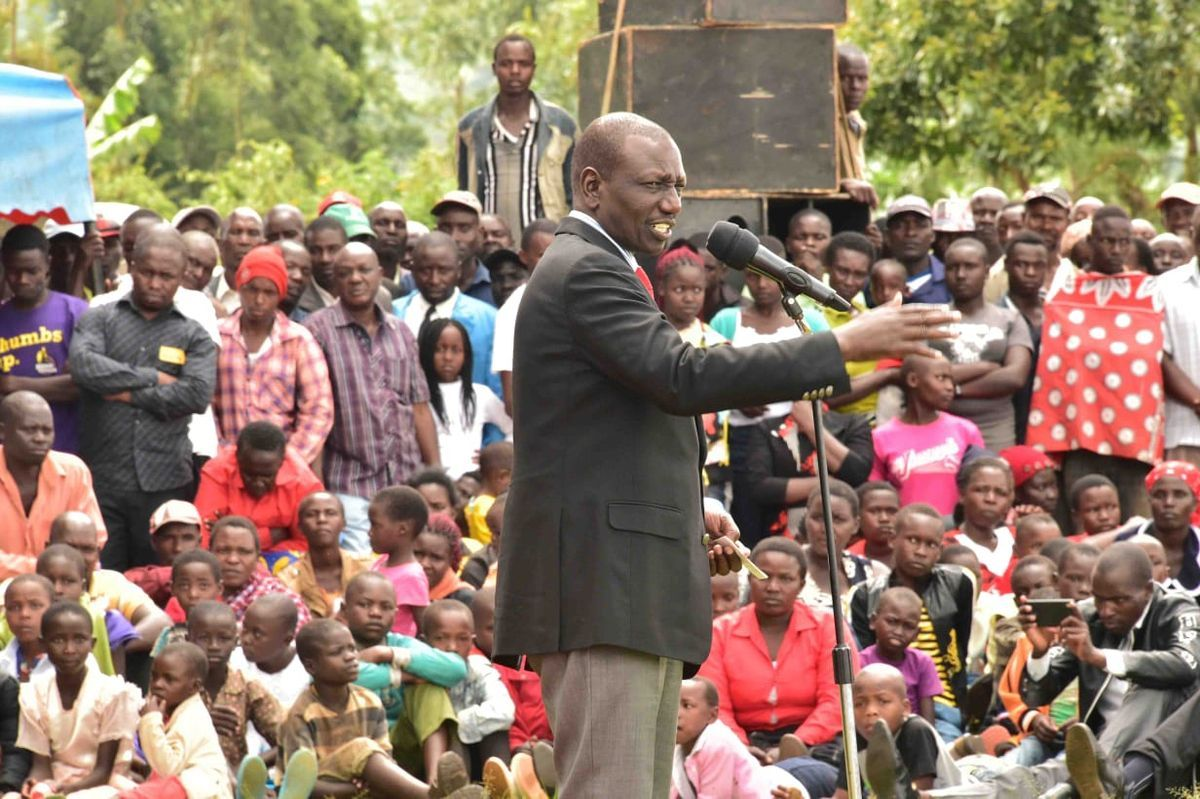 Image result for william ruto in kisii