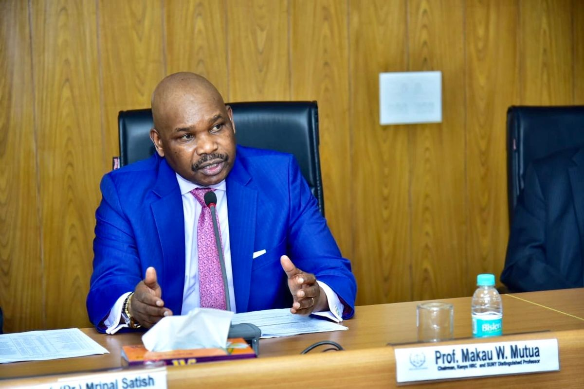 Image result for Prof Makau Mutua with Ruto