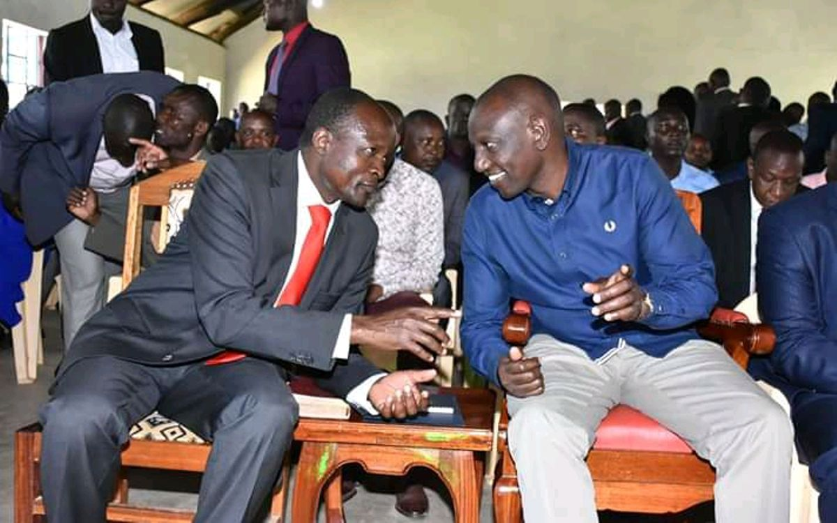 Image result for images of Ruto with Obado