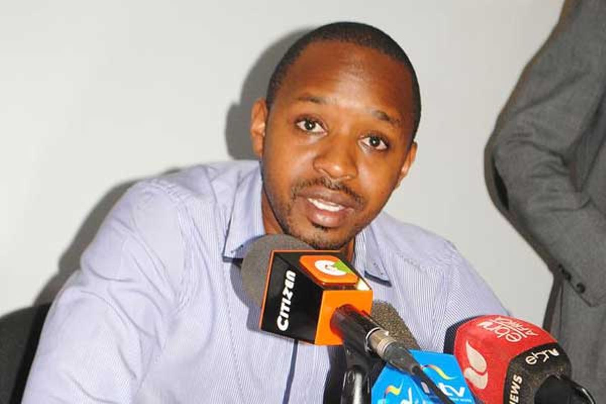 Image result for images of activist Boni Mwangi