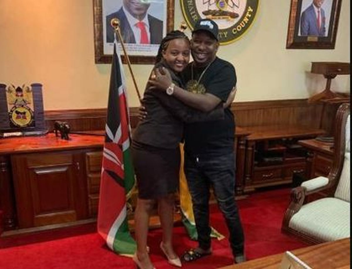 Image result for sonko and anne mvurya