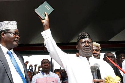 KENYA; 3rd opposition member who attended Odinga's mock inauguration arrested