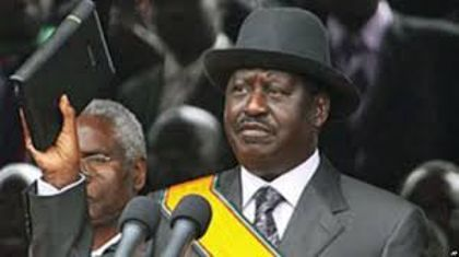 Kenya's Raila sets date to