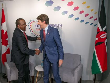 President Uhuru Kenyatta's Interview to Air Shortly on CNN