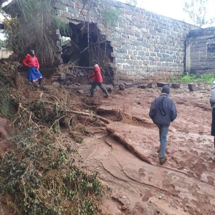 Kenyan dam bursts after weeks of rain, killing at least 32