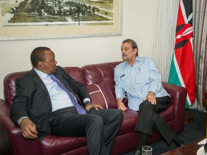 Kenyan President Reaffirms Good Ties with Cuba