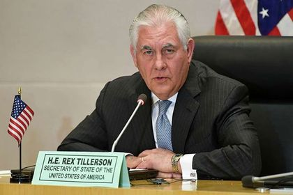 US Secretary of State Rex Tillerson cancels activities in Kenya