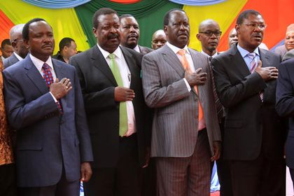 Uhuru, Raila shelved interests for country's unity - Jubilee MPs