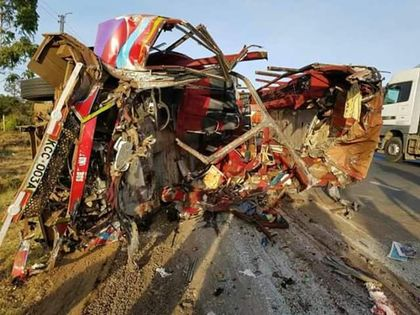 30 dead in central Kenya bus crash