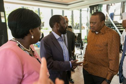 Uhuru tells Mt Kenya politicians shouting won't make them Ruto's deputy
