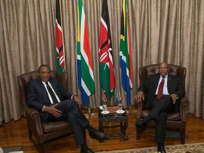 Uhuru, Ramaphosa talks dwell on open borders and stronger ties