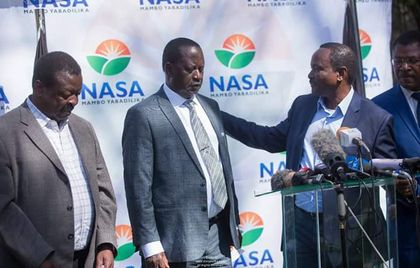 POLITICAL PROMOTION: NASA Supporters Demand Joho to Take Oath as Raila's Deputy