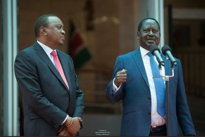 Kalonzo, Mudavadi and Wetangula demand all-inclusive talks with Uhuru