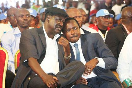 Leaders explain why Raila ignored Kalonzo while meeting Uhuru