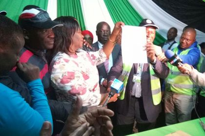 Edith Nyenze Clinches Kitui West Parliamentary Seat
