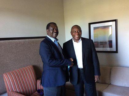 Ramaphosa arrives back at NEC meeting