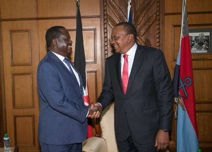 Kenya: Uhuru, Raila Truce Puts Spotlight On Envoys' Role to End Crisis