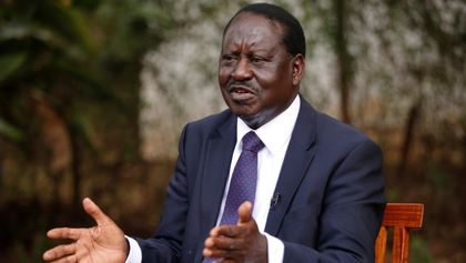 Kenya: Raila Odinga Swears Self People's President