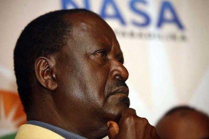 Raila speaks after meeting Moi