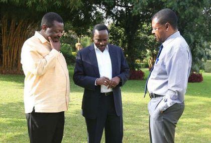 We weren't aware of Uhuru-Raila meet, NASA principals say