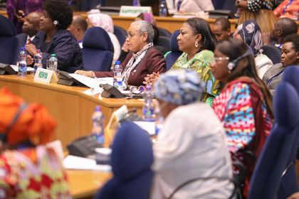 Margaret Kenyatta attends OAFLA General Assembly Meeting