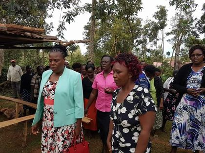 Image result for Mr. Hillary Obutu kisii first lady brother